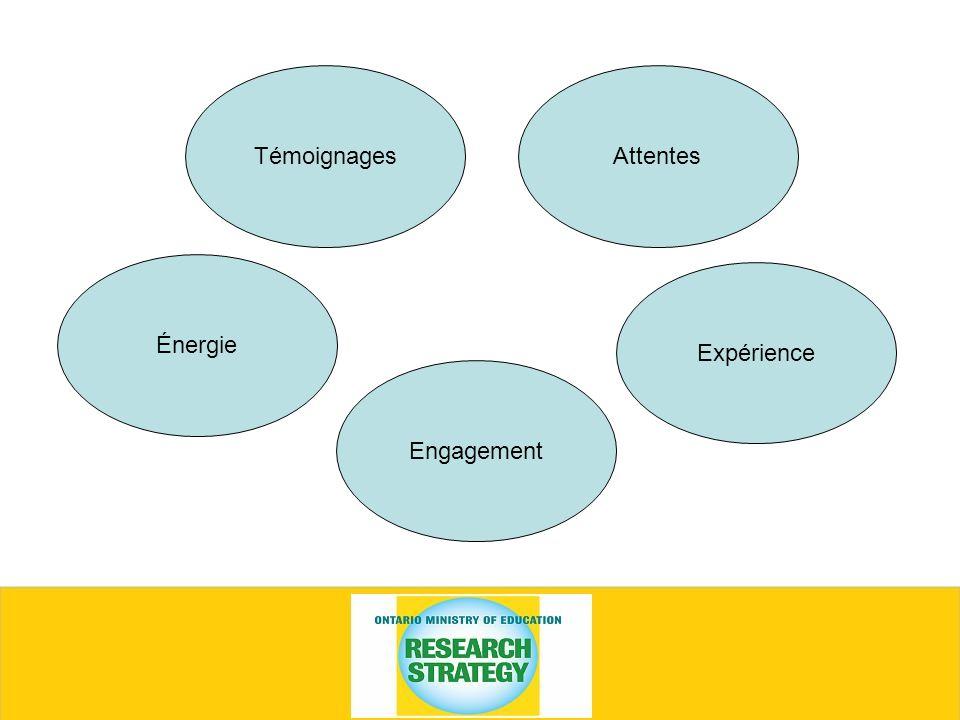 TémoignagesAttentes Expérience Engagement Énergie
