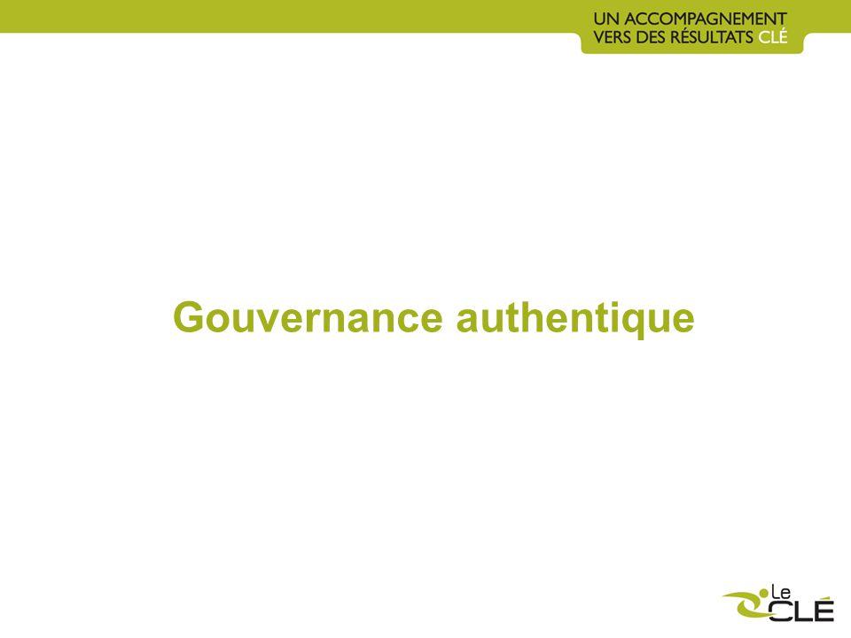 Gouvernance authentique