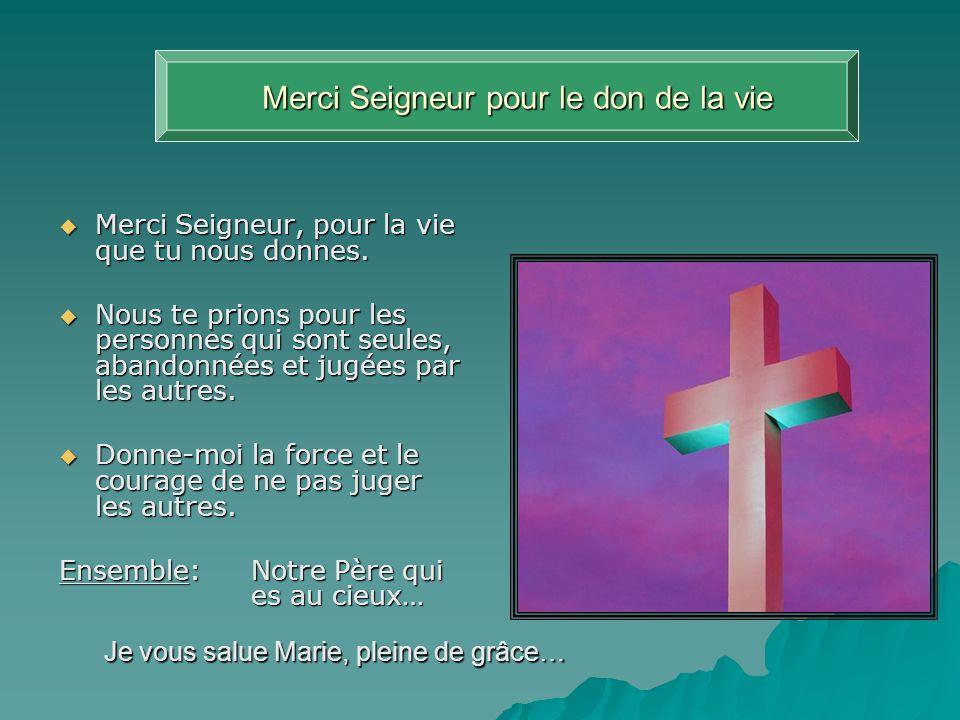 Troisième station Jésus est chargé de sa croix Ils prirent donc Jésus.