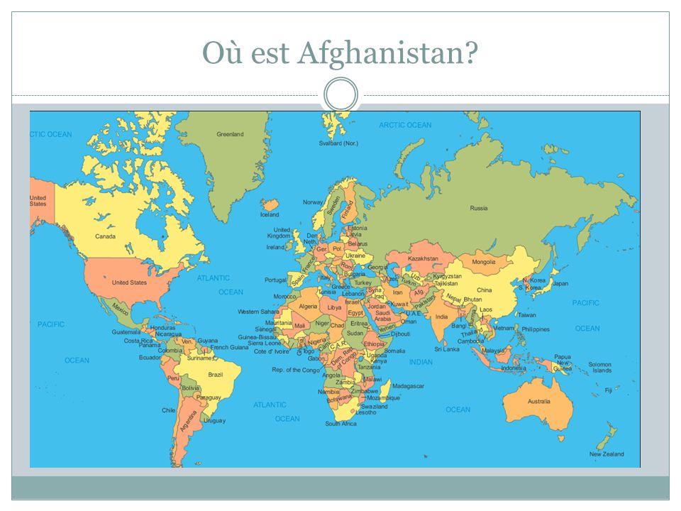 Où est Afghanistan