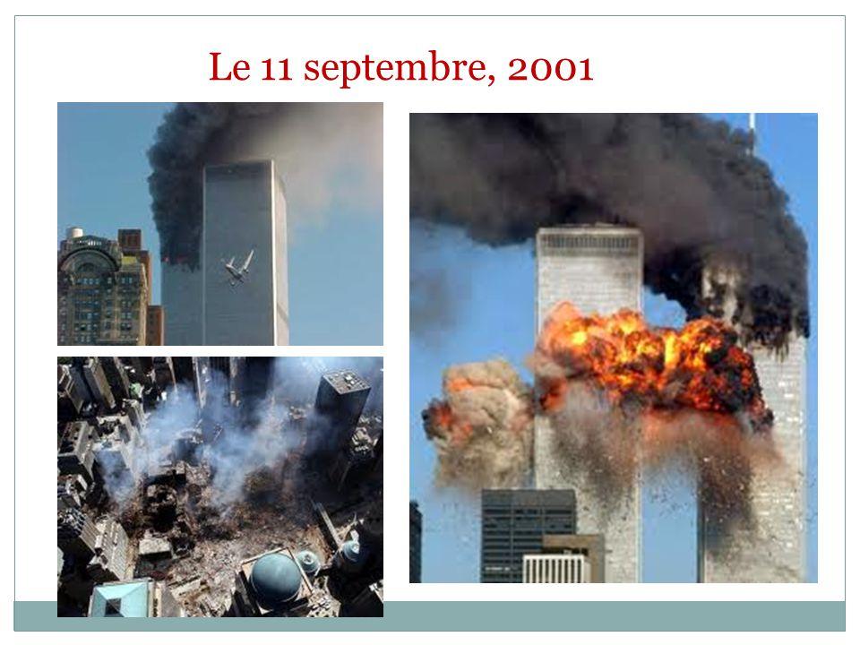 Le 11 septembre, 2001