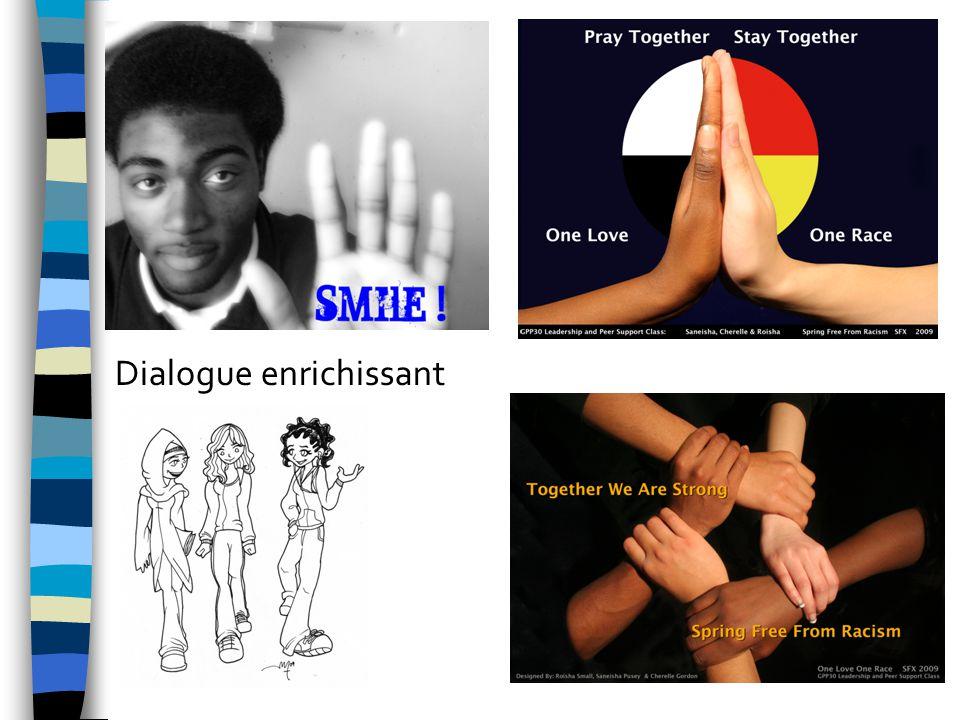 Dialogue enrichissant