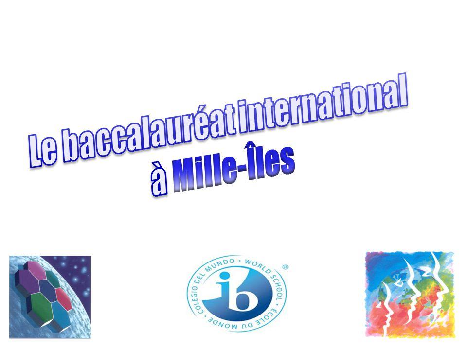 Quest-ce que lOrganisation du baccalauréat international.