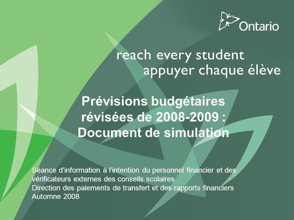 2 Objectifs du présentation Procurent un aperçu et des instructions sur la manière dutiliser le formulaire du SIFE et les fichiers Excel permettant de calculer lajustement éventuel des subventions.