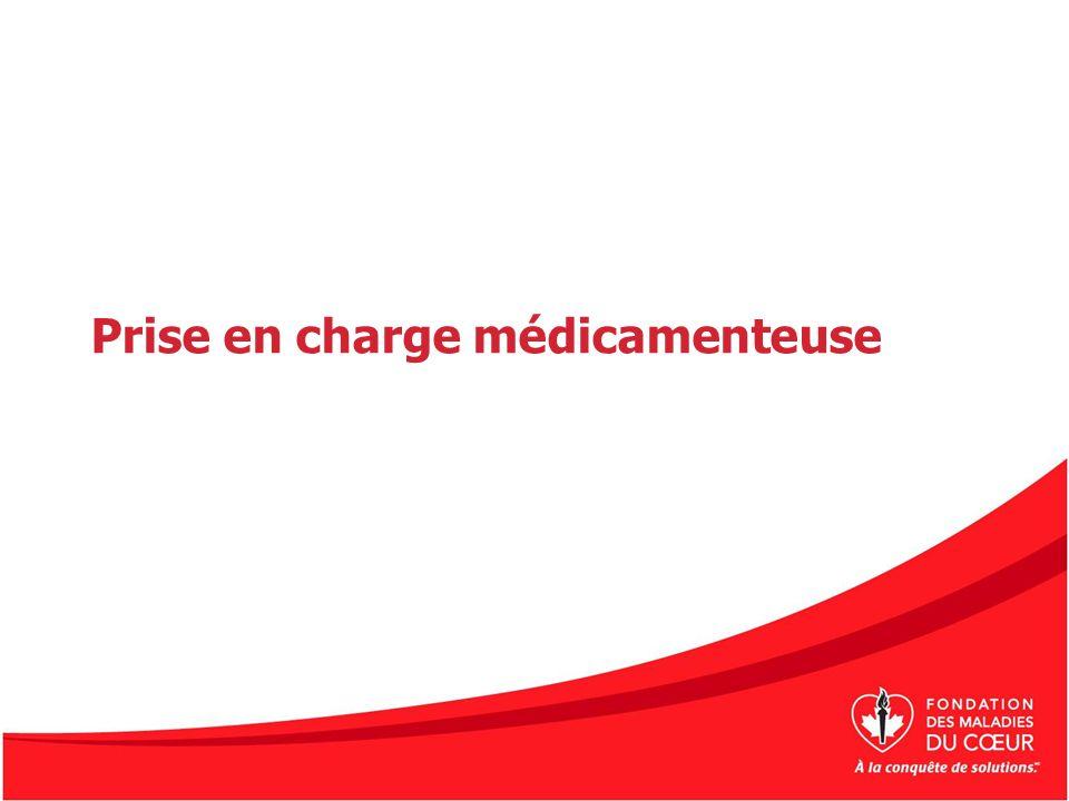 Prise en charge médicamenteuse