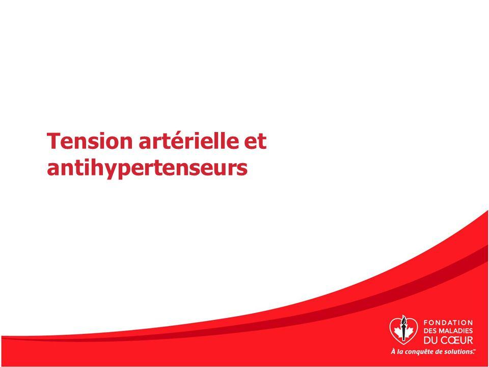 Tension artérielle Lhypertension artérielle est le principal facteur de risque dAVC modifiable.
