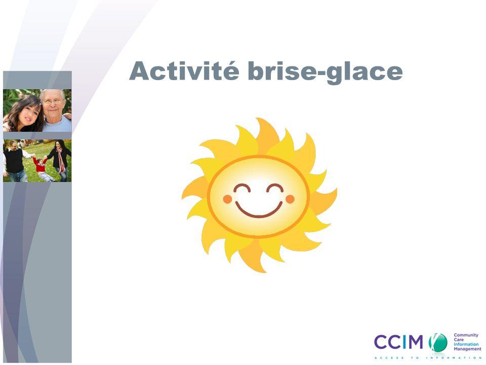 Activité brise-glace
