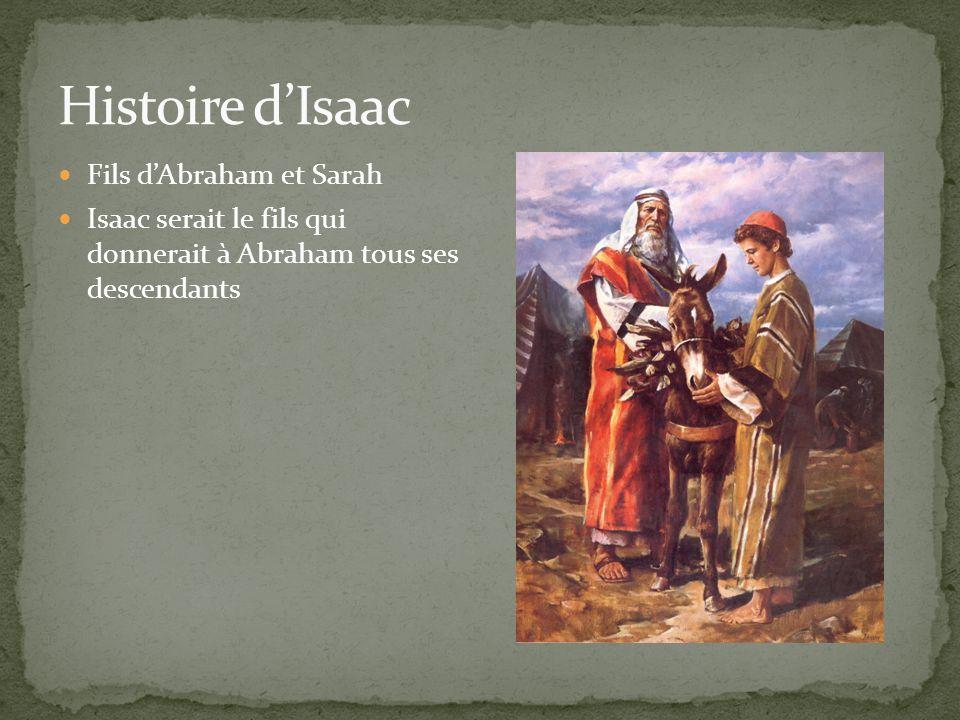Fils dAbraham et Sarah Isaac serait le fils qui donnerait à Abraham tous ses descendants