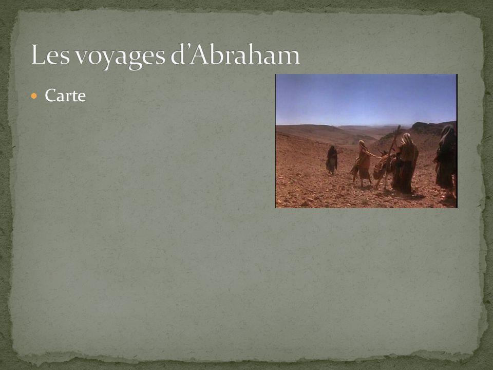 Abraham et Lot avaient besoin de vastes étendues de terre pour leurs troupeaux Une famine pouvait très bien réduire à néant leurs richesses Une famine les poussa en Égypte Abraham – a prétendu que Sarah était sa sœur Dieu infligea au pharaon et à sa cour plusieurs maladies
