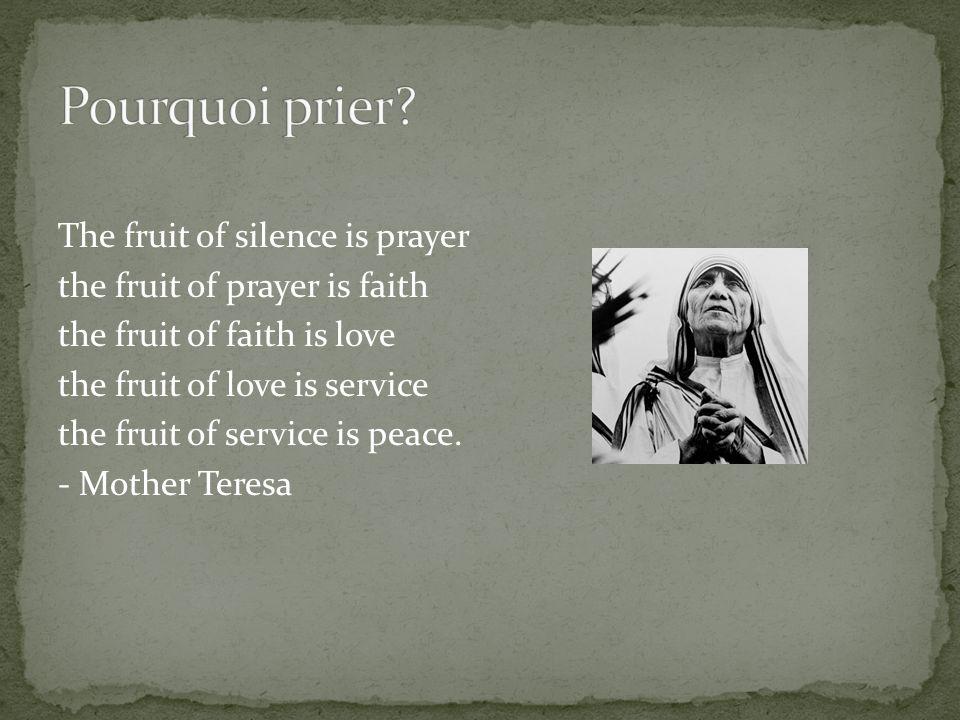 «Quand nous nous mettons à prier, nous avons limpression que nous prenons linitiative.