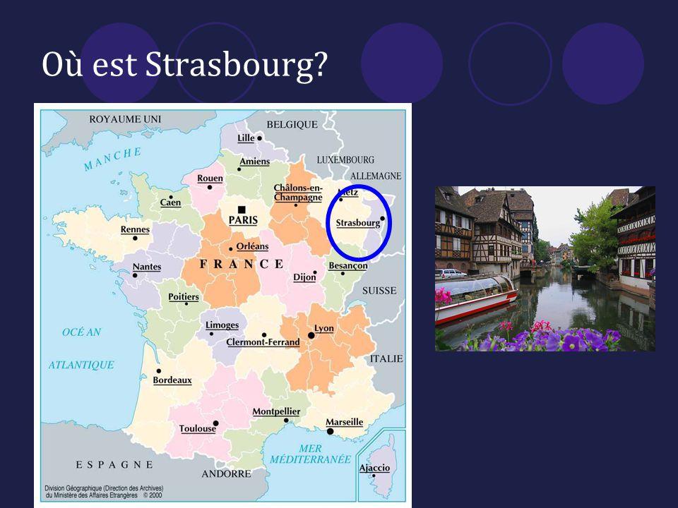 Où est Strasbourg?
