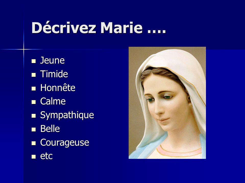 Selon la tradition de léglise, Marie est ….