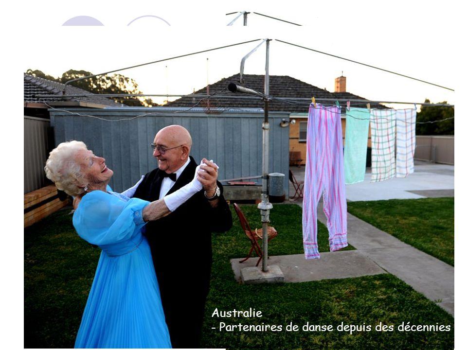 A première vue, ce nest rien de spécial Australie - Partenaires de danse depuis des décennies