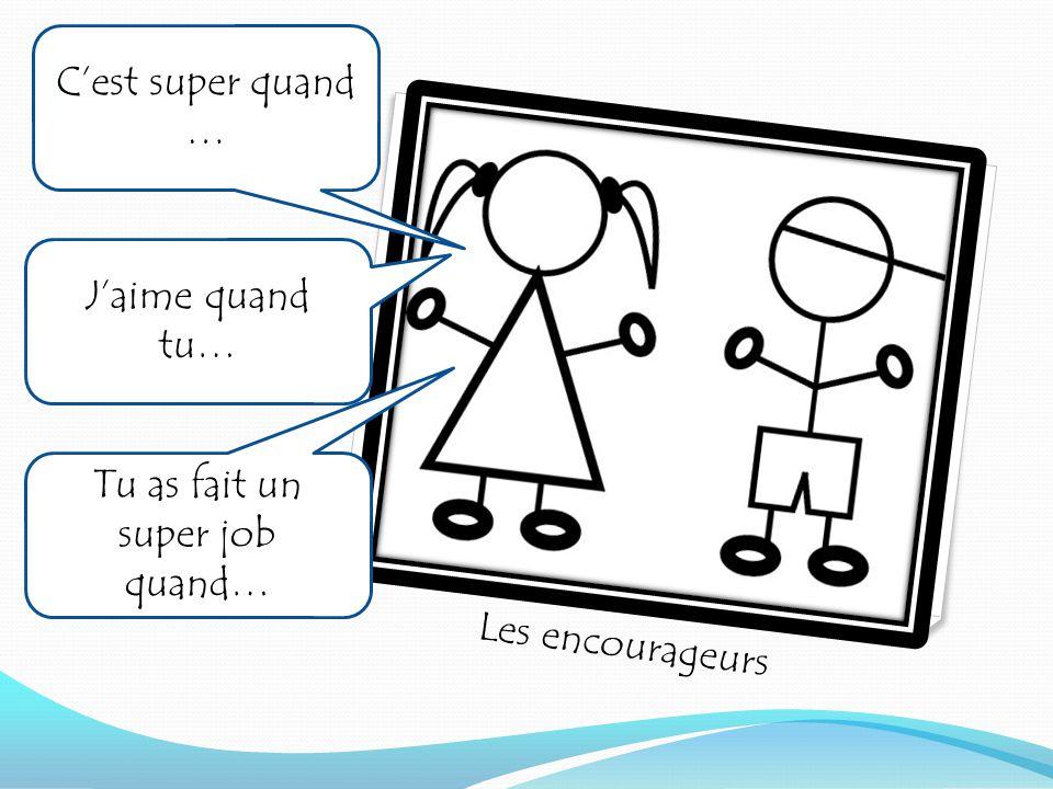 Le cercle de communauté/ communautaire (avec les dominos) Quand la classe commence, les élèves font un cercle et Mme donne un domino.