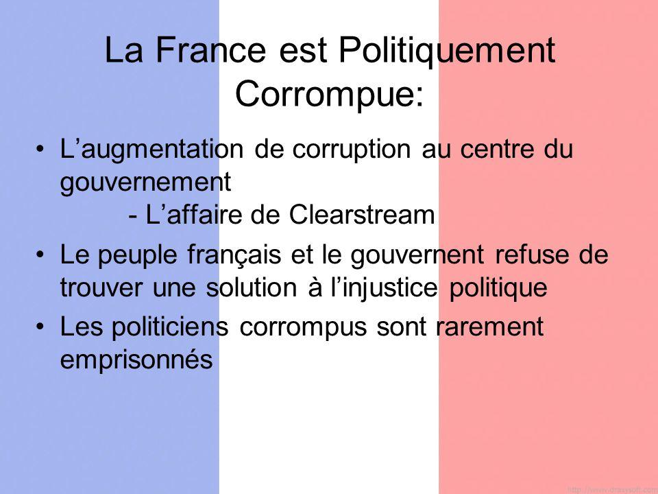 Les statistiques qui démontre laugmentation de corruption au centre du gouvernement
