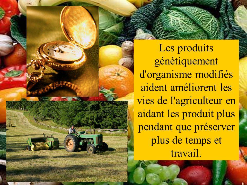 Les produits génétiquement d'organisme modifiés aident améliorent les vies de l'agriculteur en aidant les produit plus pendant que préserver plus de t