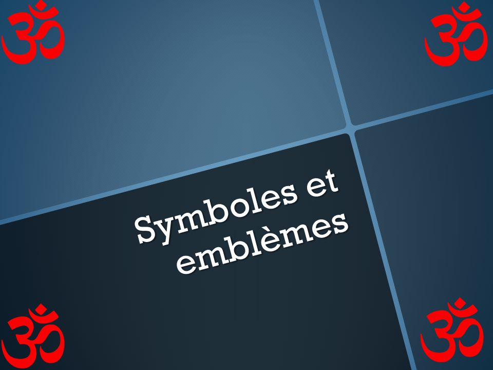 Symboles et emblèmes