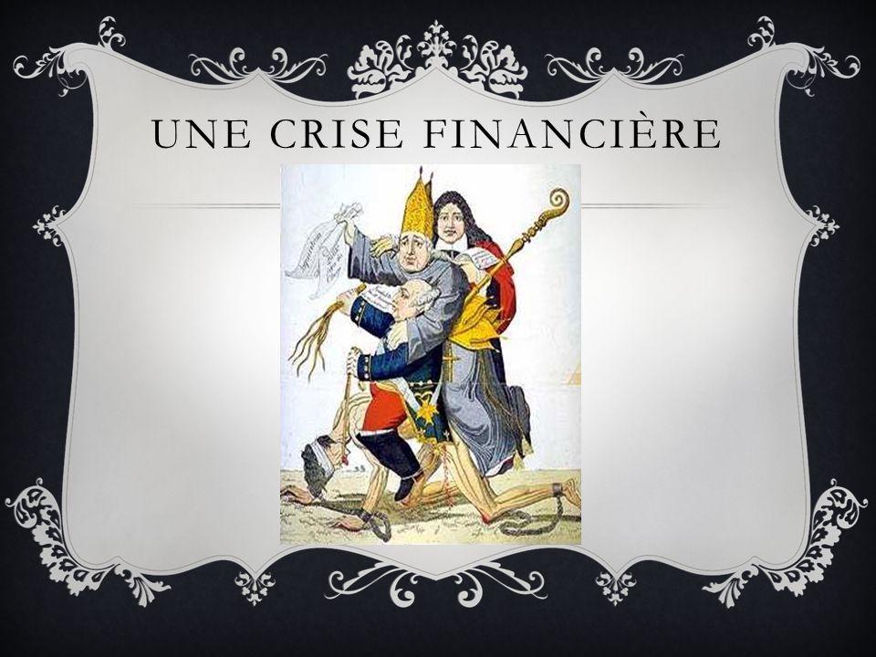 UNE CRISE FINANCIÈRE