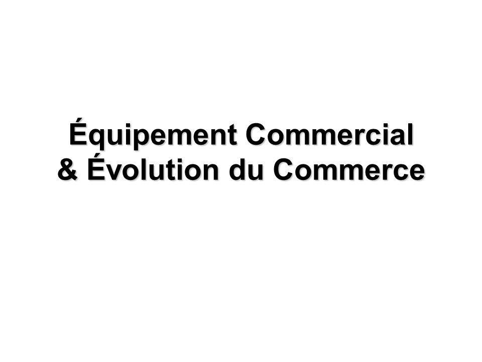 Équipement Commercial & Évolution du Commerce