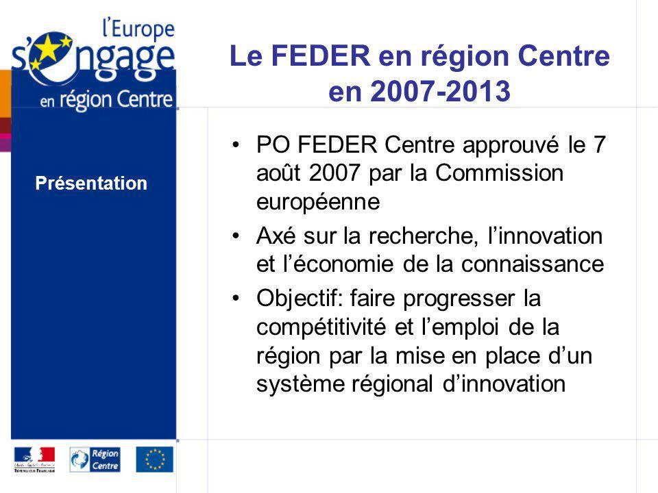 Des Programmes Opérationnels mono-fonds FEDER Programme régional Autorité de gestion : Préfet de région FSE Programme national avec volet déconcentré