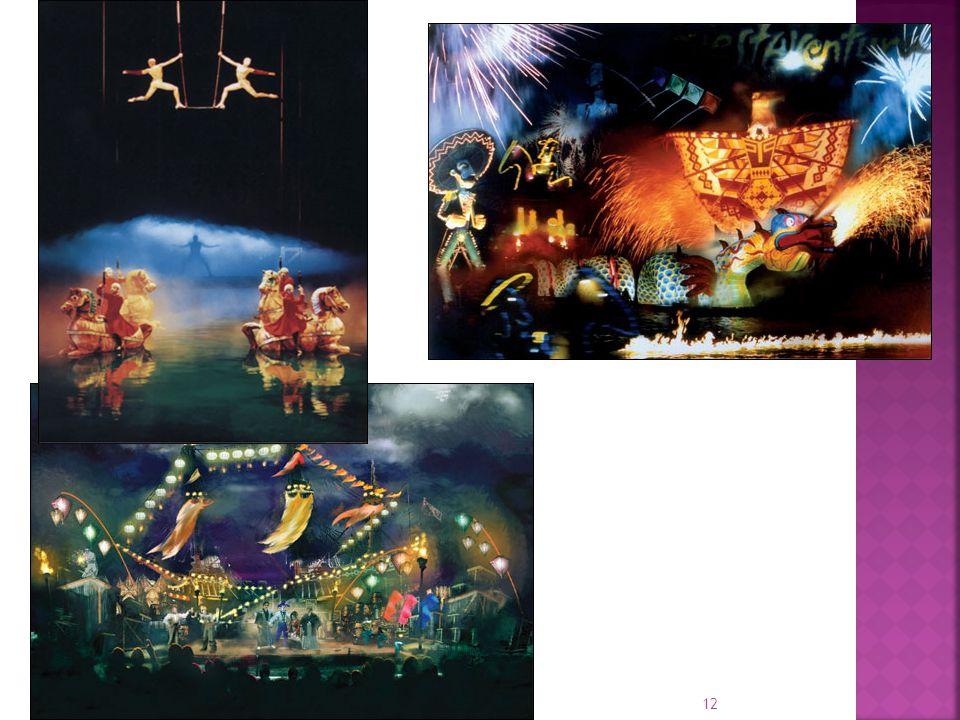 11 La compagnie se distingue par une vision artistique différente du cirque traditionnel, avec notamment l'absence d'animaux, une grande importance do