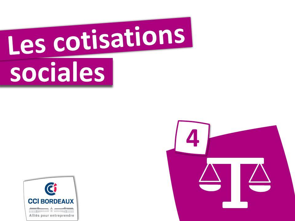 sociales Les cotisations 4