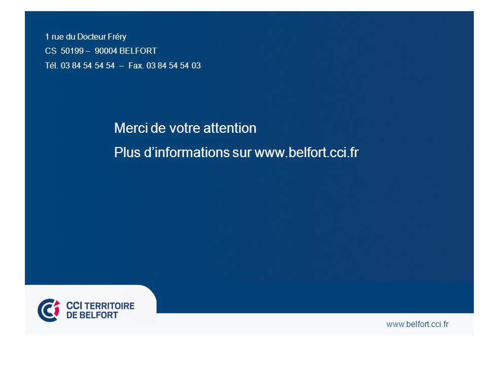 1 rue du Docteur Fréry CS 50199 – 90004 BELFORT Tél.