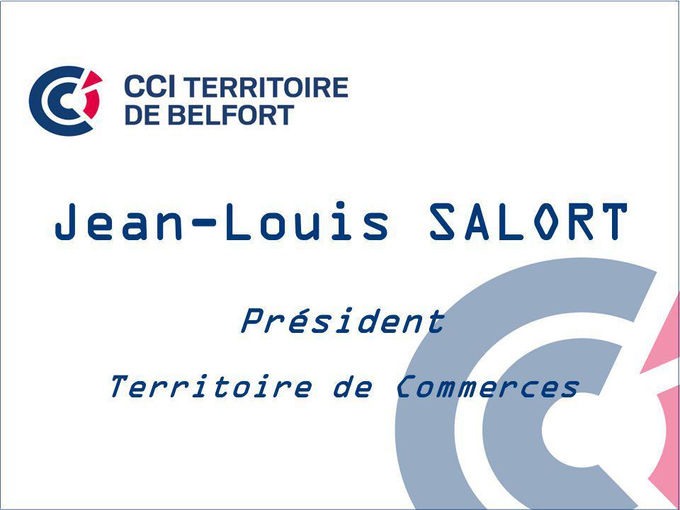 Jean-Louis SALORT Président Territoire de Commerces