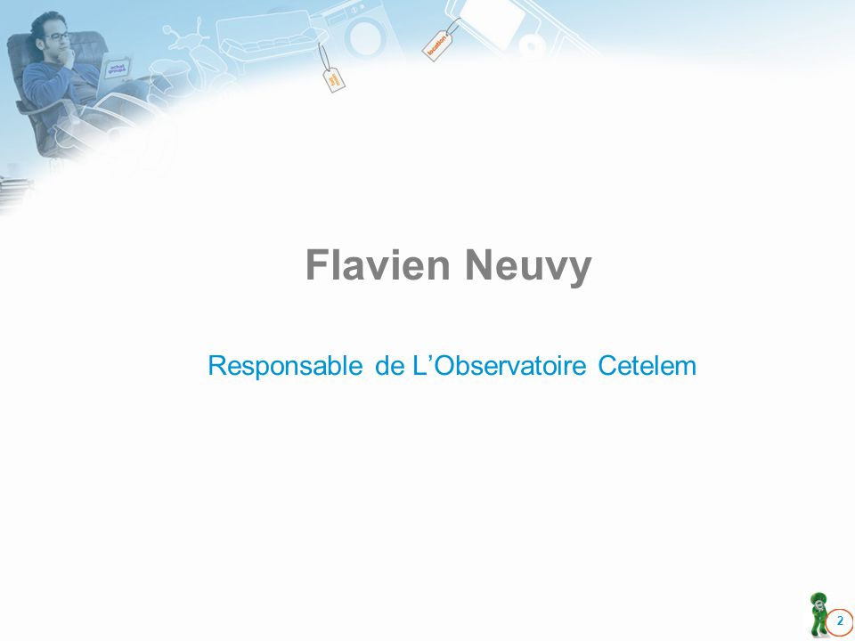 Flavien Neuvy 2 Responsable de LObservatoire Cetelem