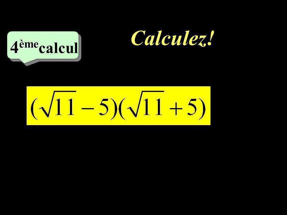–1–1 3 eme calcul Calculez