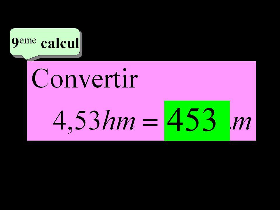 –1–1 5 eme calcul 5 eme calcul 9 eme calcul 453