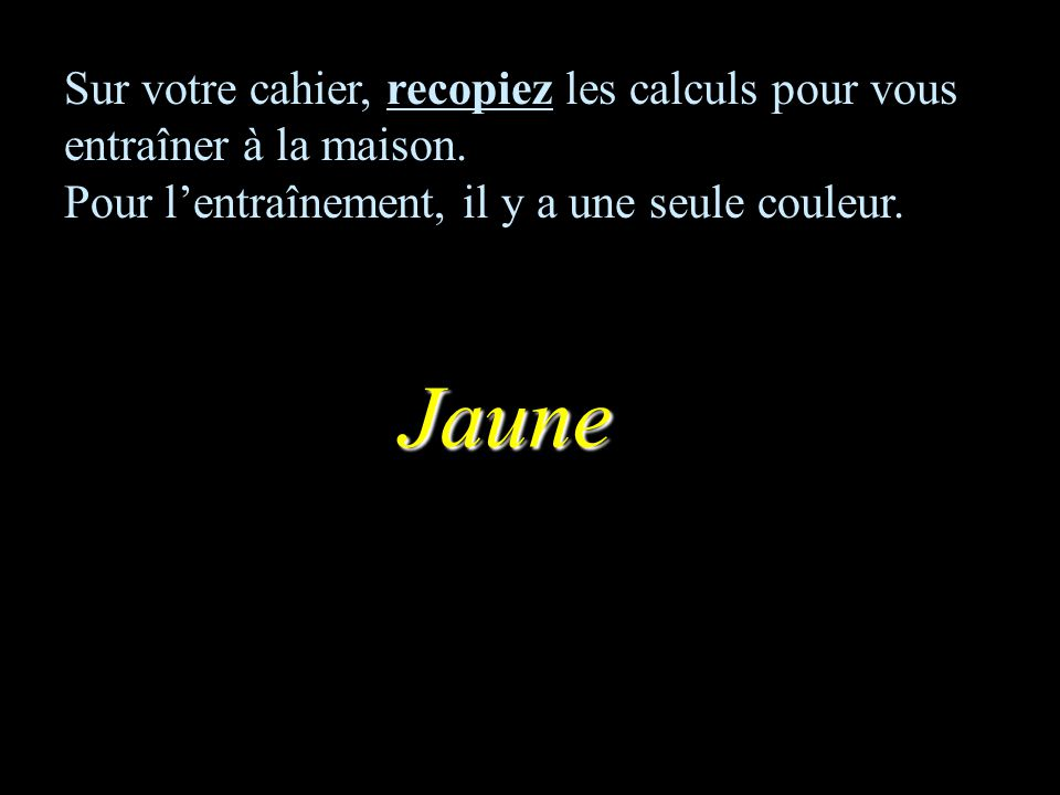 Correction : –1–1 8ème calcul 12