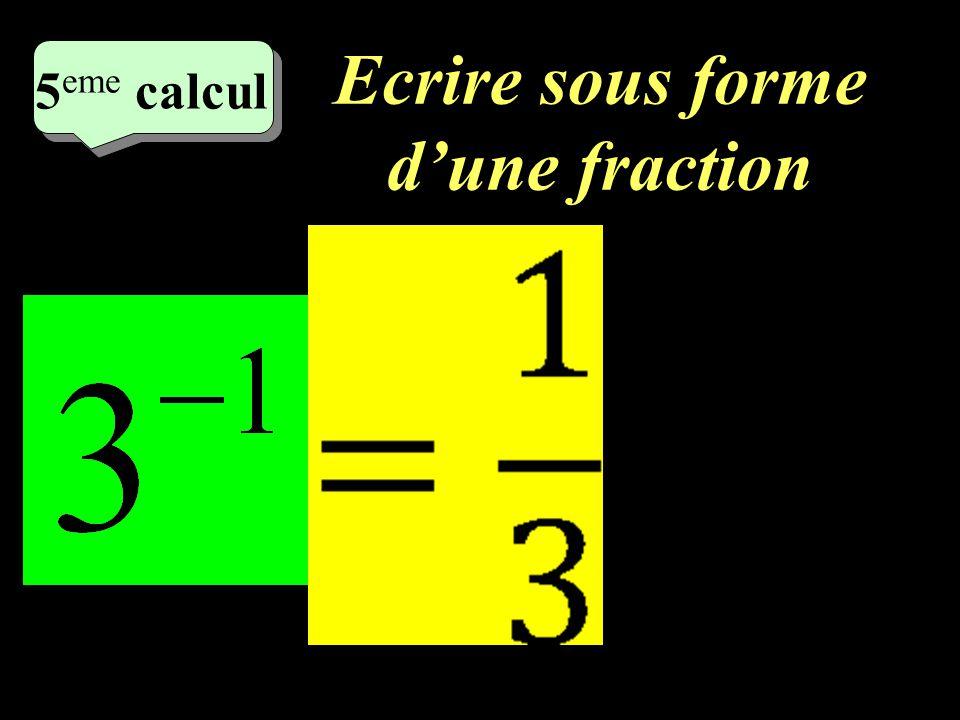 Calculer –1–1 4 eme calcul 4 eme calcul 4 eme calcul =16