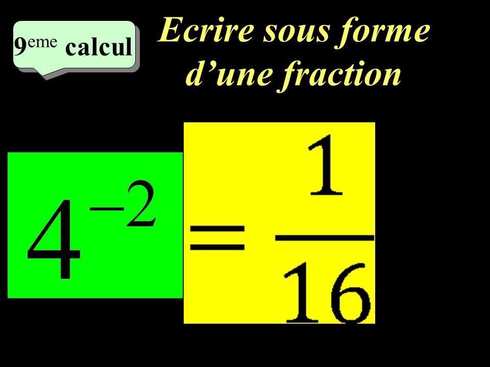 Calculez! 8 eme calcul 8 eme calcul 8 eme calcul =490