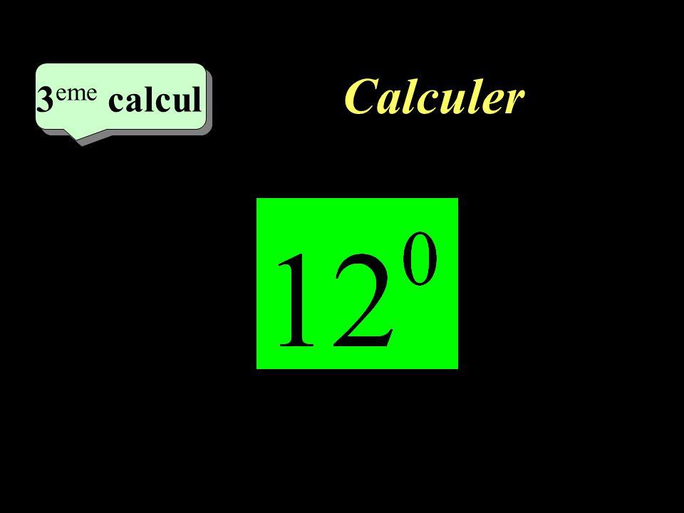 Calculer –1–1 2 eme calcul 2 eme calcul 2 eme calcul =1