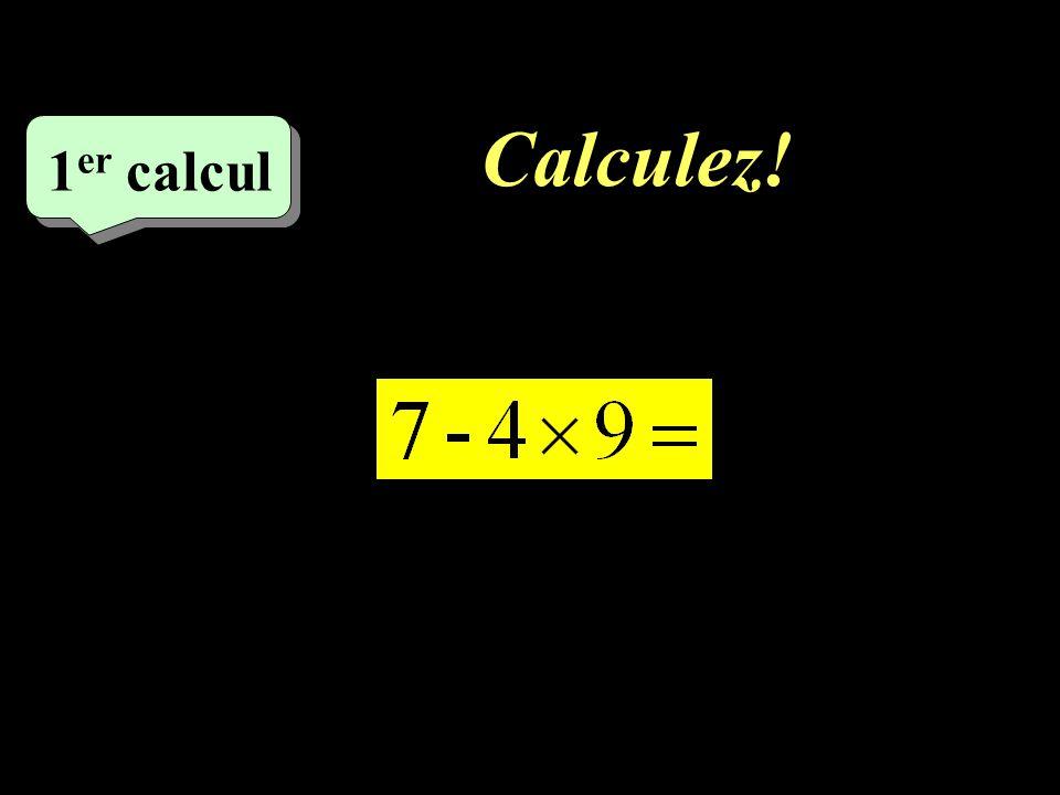 Correction : –1–1 9 eme calcul - 21
