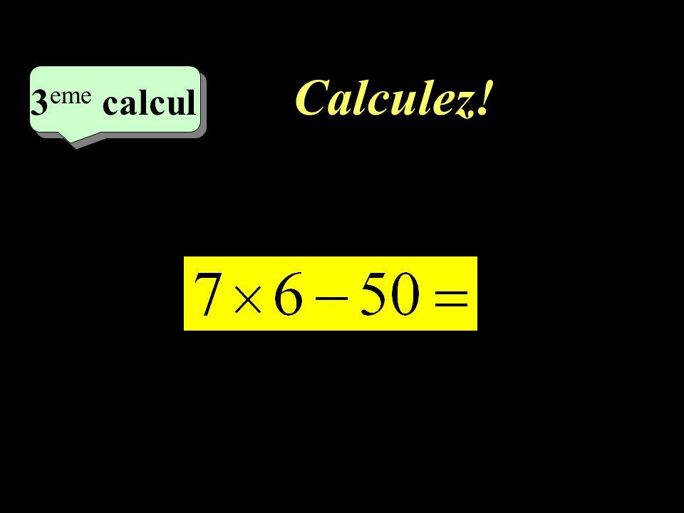 Correction : –1–1 1 er calcul - 29