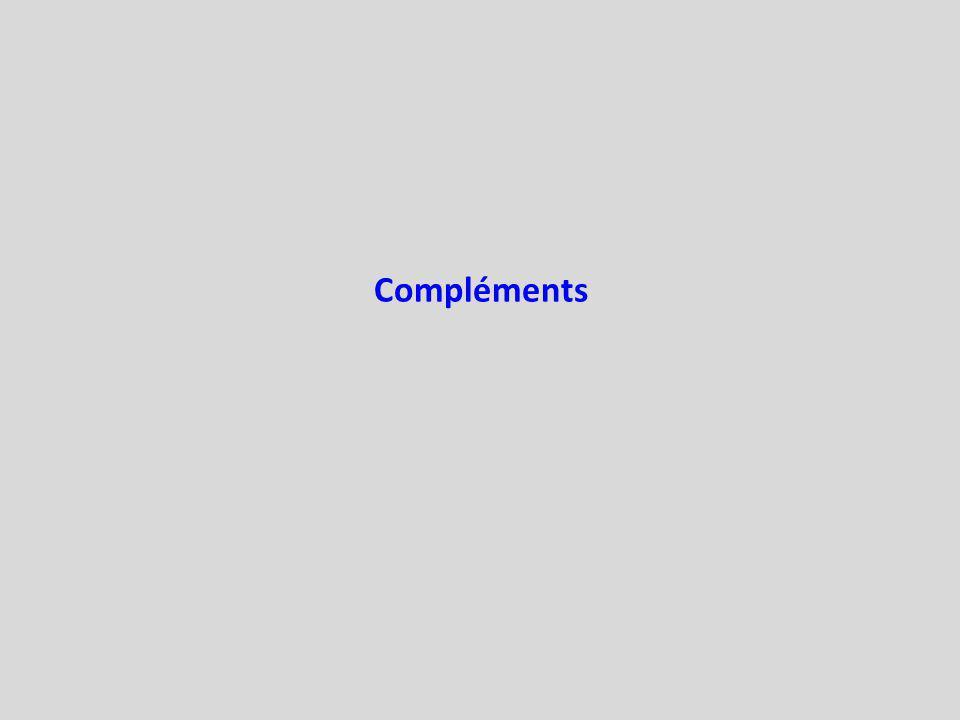 Compléments
