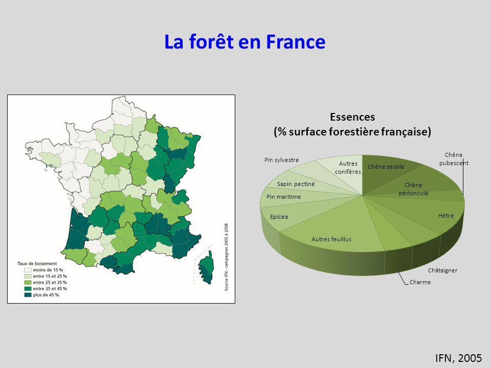 IFN, 2005 La forêt en France