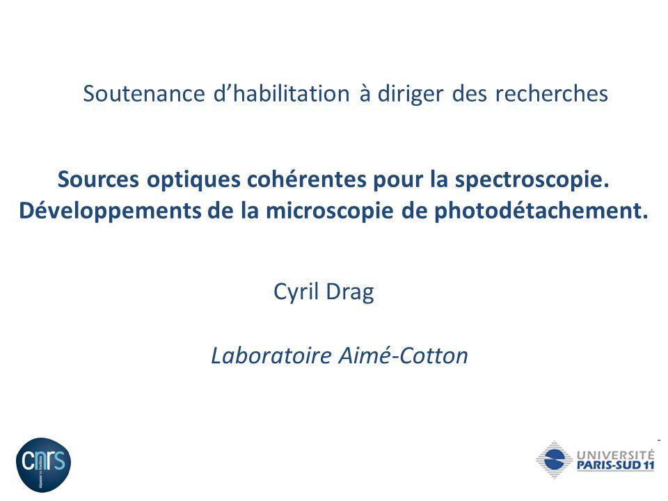 Thèse 1997-2000 : La photoassociation datomes de césium froids.