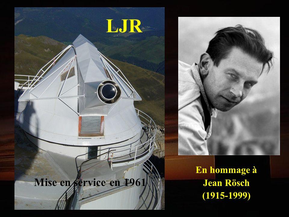 En hommage à Jean Rösch (1915-1999) LJR Mise en service en 1961