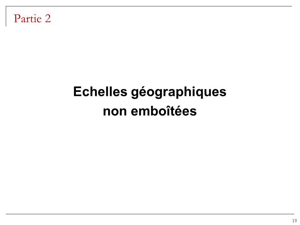 19 Partie 2 Echelles géographiques non emboîtées