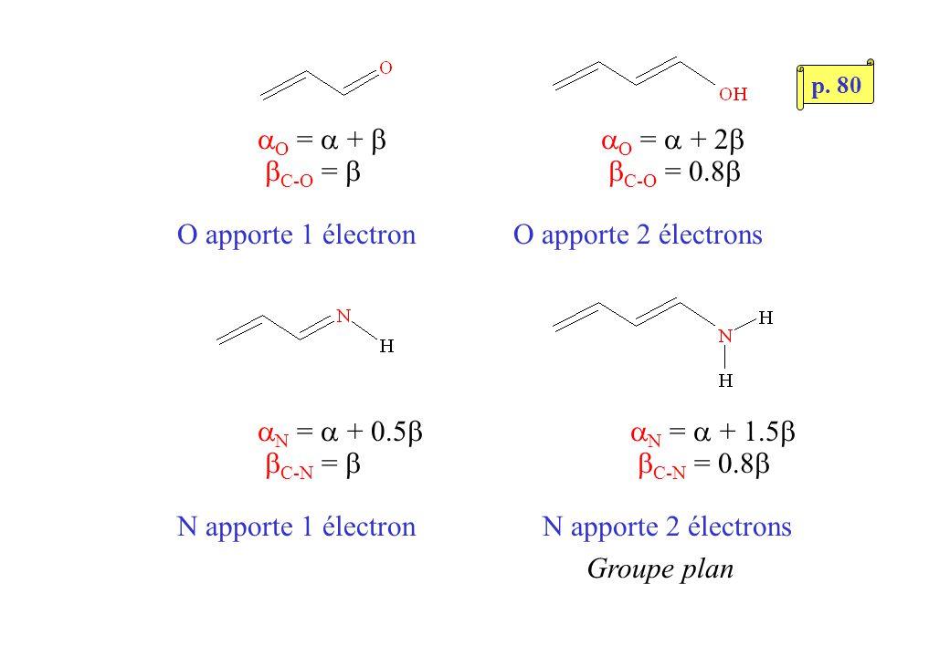Très stable Aromaticité, antiaromaticité Explication (?) Faits expérimentaux Stabilisé par « résonance » entre 2 structures de Kekulé p.