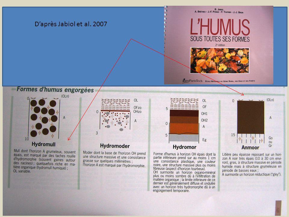 Daprès Jabiol et al. 2007