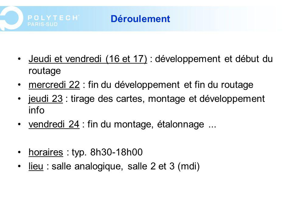 Evaluation Note de projet : /12 Rapport (10 pages environ), à rendre le lundi 28 juin : /3 Oral : /5 Evaluations à remplir sur l intranet !