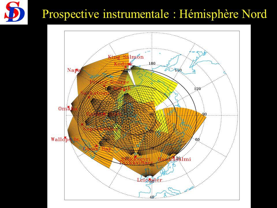 Prospective PNST 28-30 /09/2005 Prospective instrumentale : Hémisphère Nord