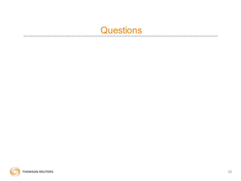 33 Questions