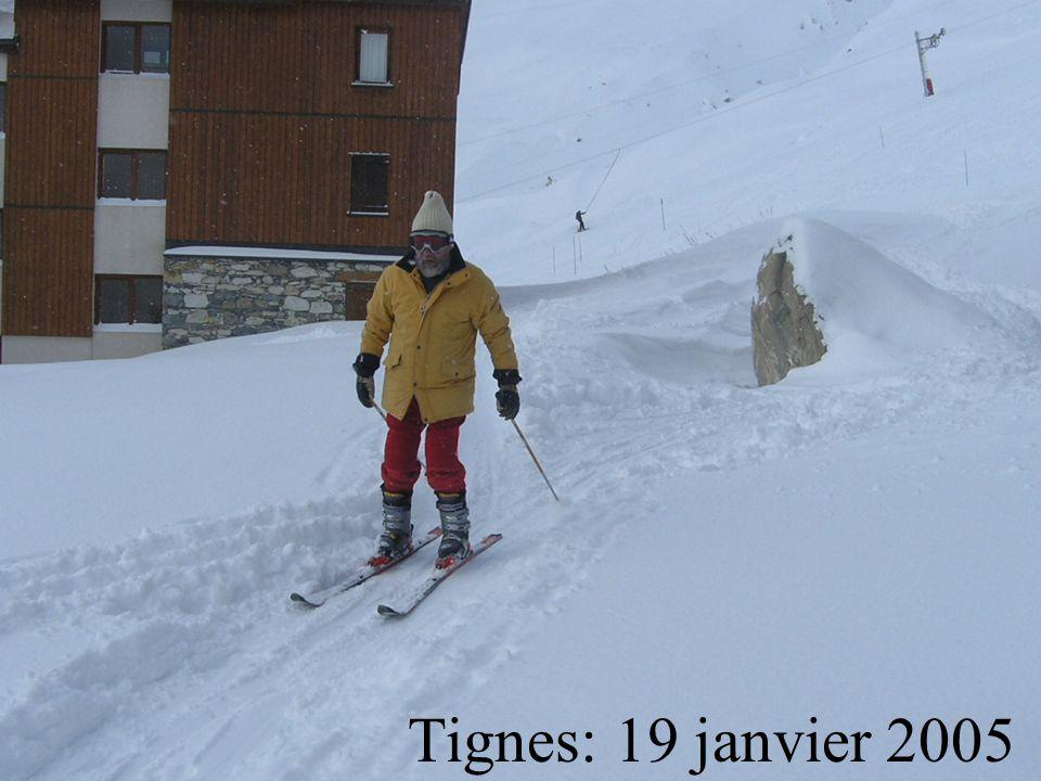 Tignes: 19 janvier 2005