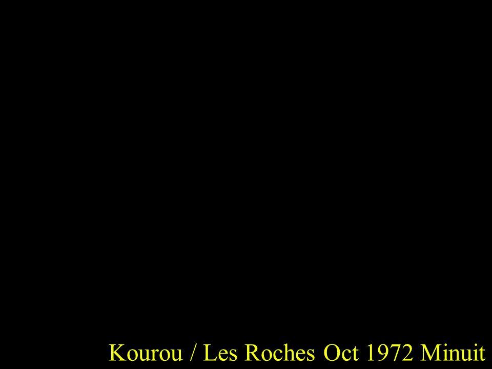 Kourou / Les Roches Oct 1972 Minuit
