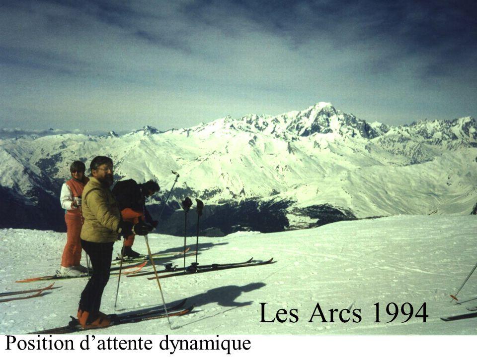 Les Arcs 1994 Position dattente dynamique